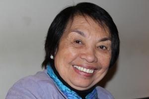 FriedensFrau Irene Santiago in Zürich